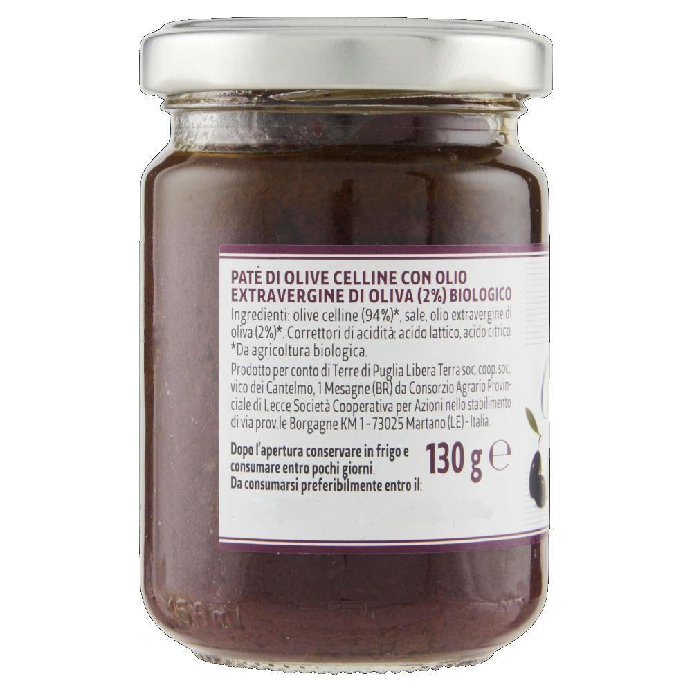 Paté Di Olive Celline Biologico 130g