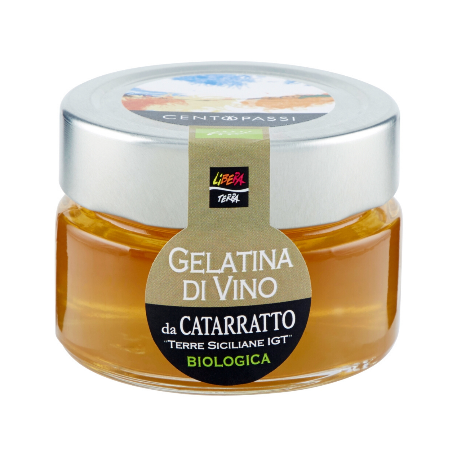 Gelatina di Vino Biologica da Catarratto IGT 100g