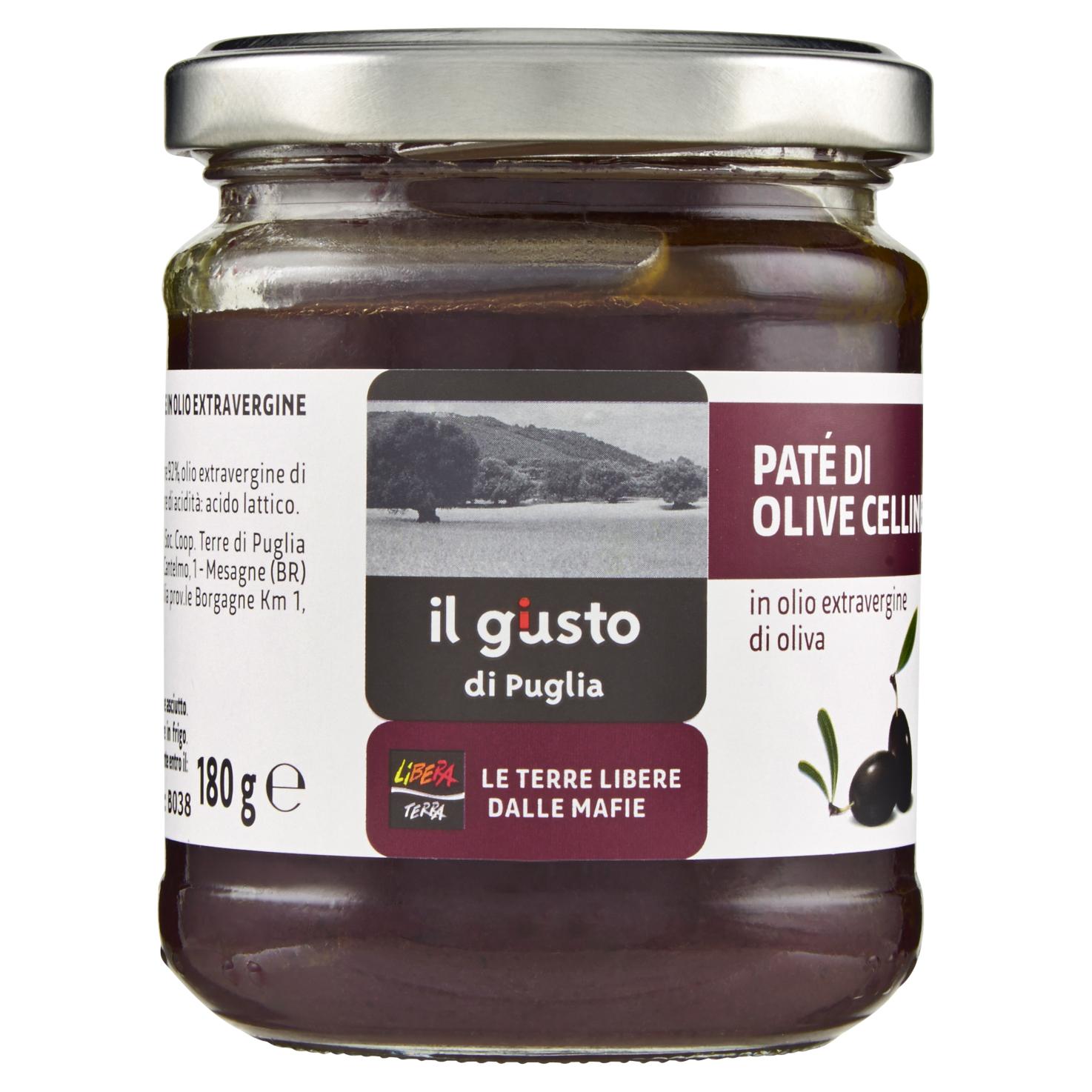 Paté Di Olive Celline 180g