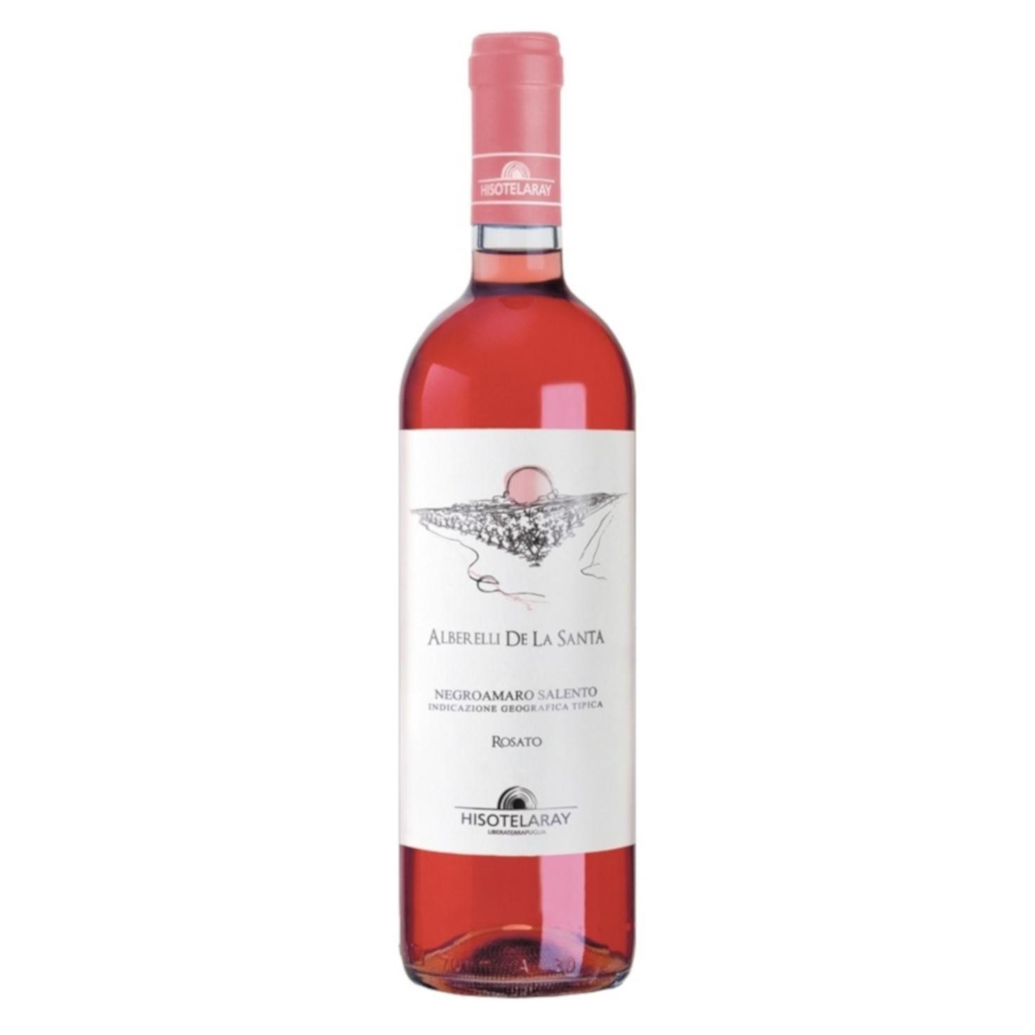 Negroamaro Rosato – Alberelli De La Santa – Salento IGT 2018 75cl