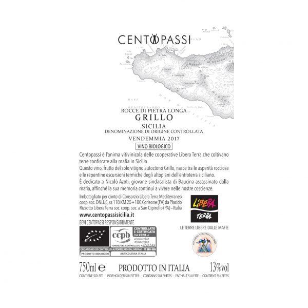 Grillo – Rocce di Pietra Longa – Sicilia DOC 2017 75cl