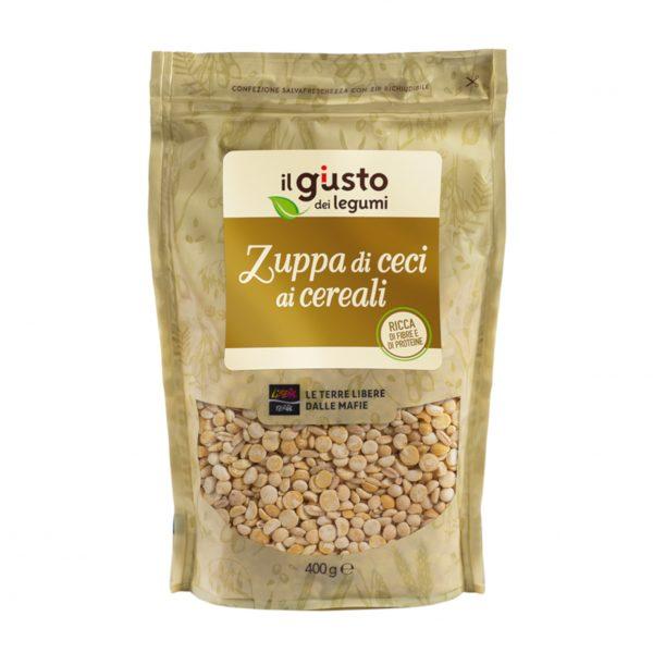 Zuppa di Ceci ai Cereali 400g