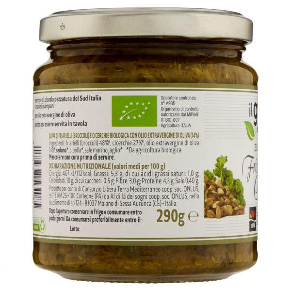 Zuppa di Friarielli e Cicerchie Biologica 290g