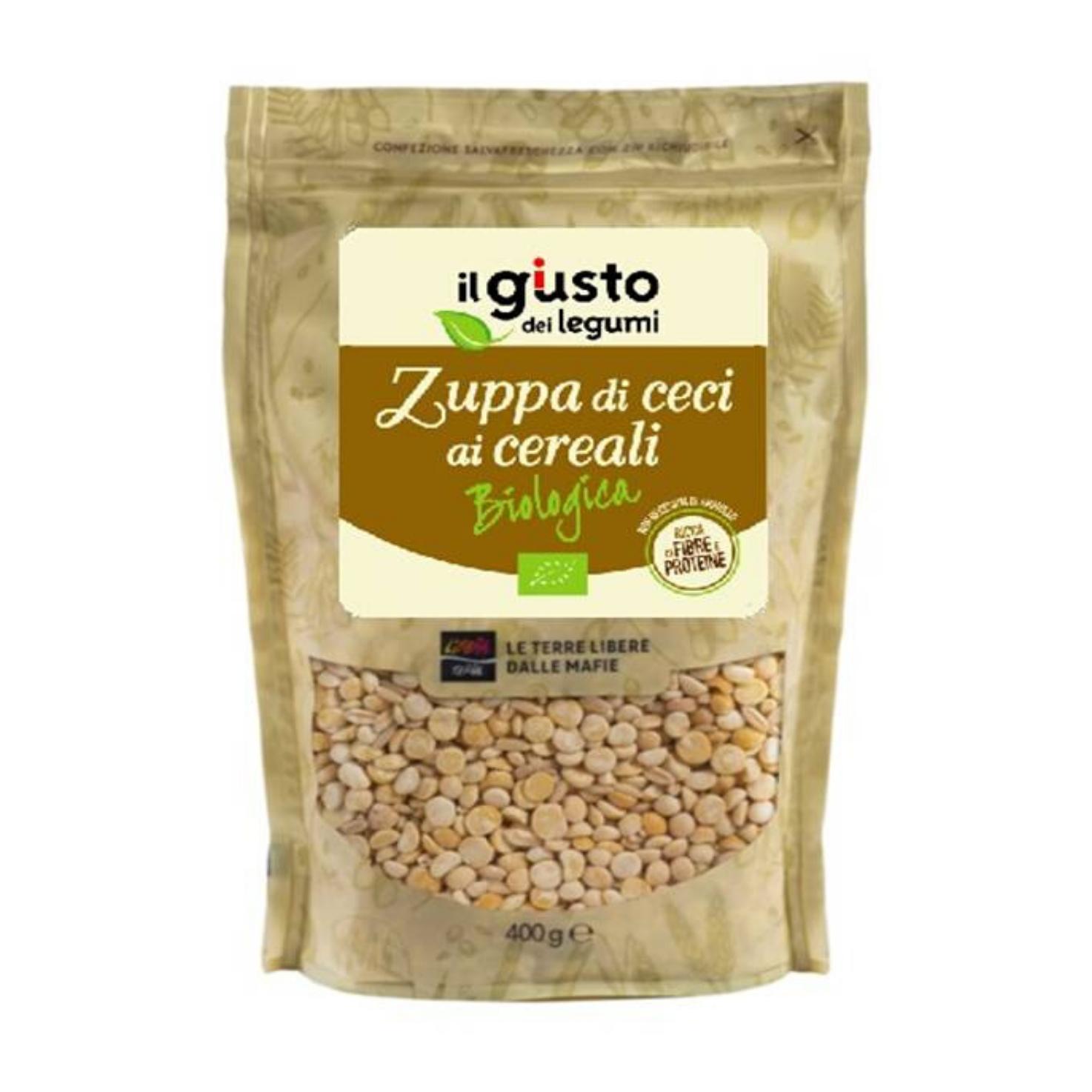 Zuppa di Ceci ai Cereali Biologica 400g