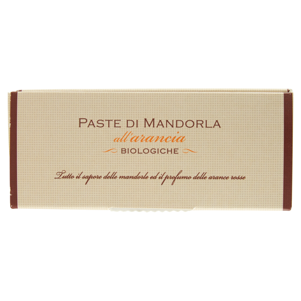 Paste di Mandorla all'Arancia Biologiche 160g