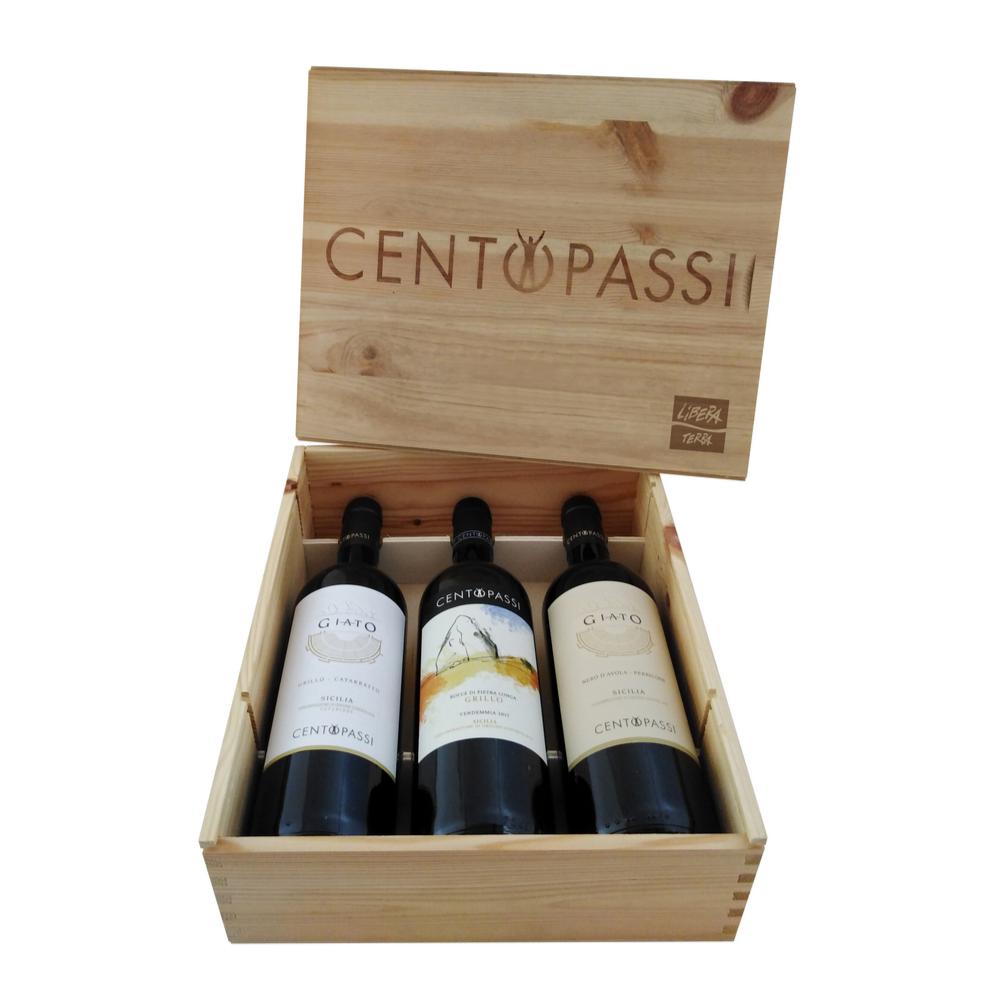 Cassetta di Vini Centopassi