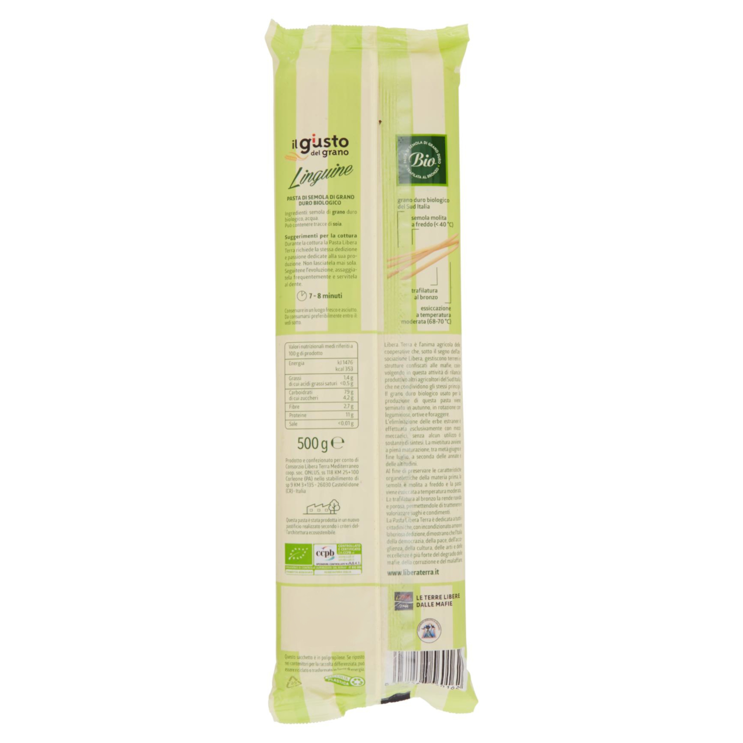 Linguine Biologiche 500g