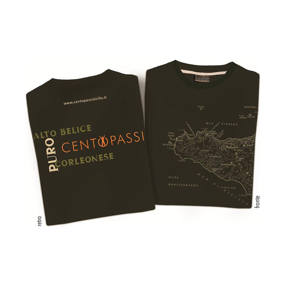 T-shirt Puro Alto Belice Corleonese Uomo