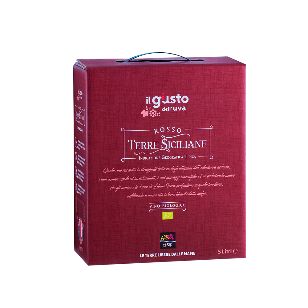 Rosso – Terre Siciliane IGT 2018 5l