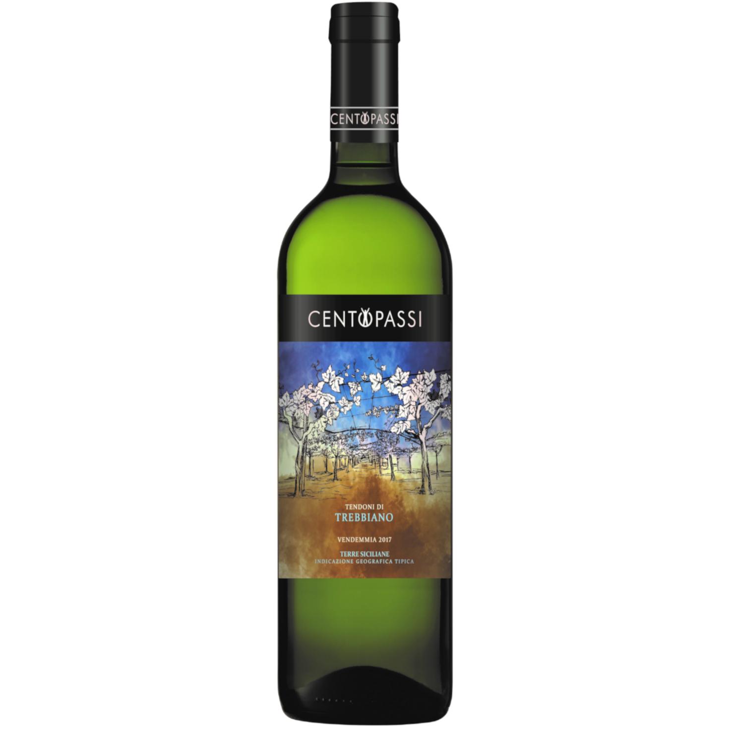 Trebbiano – Tendoni di Trebbiano – Terre Siciliane IGT 2017 75cl