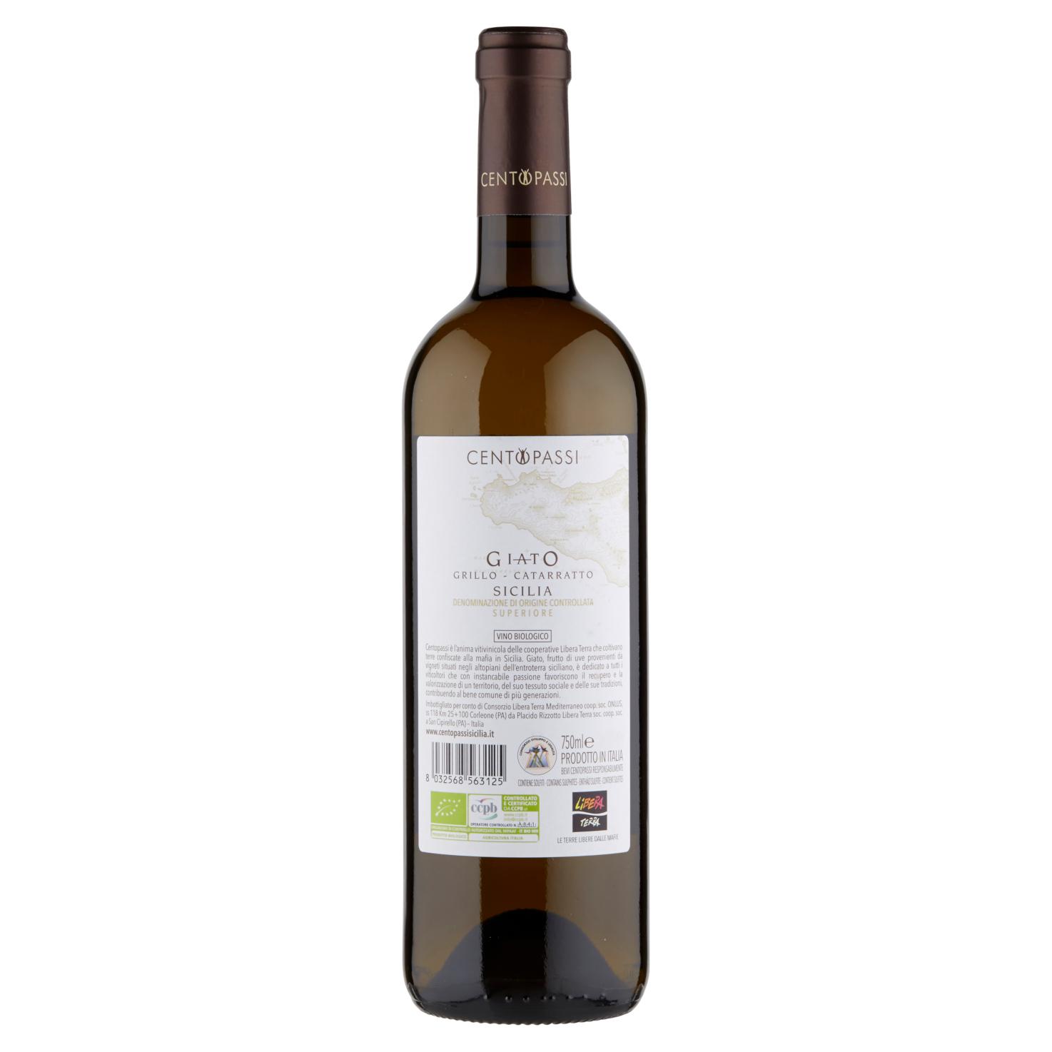Giato Grillo-Catarratto – DOC Sicilia Superiore 2019 75cl