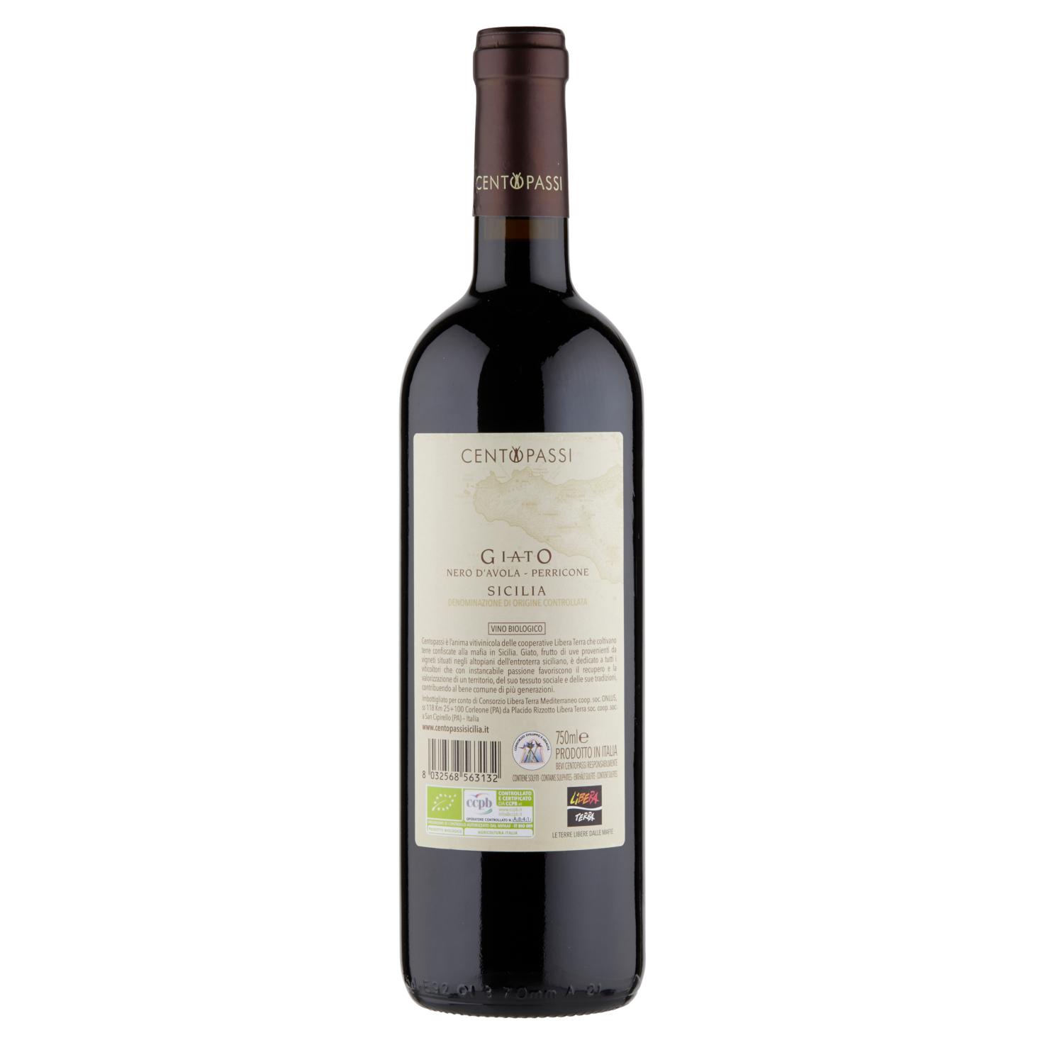 Giato Nero d'Avola-Perricone – DOC Sicilia 2019 75cl