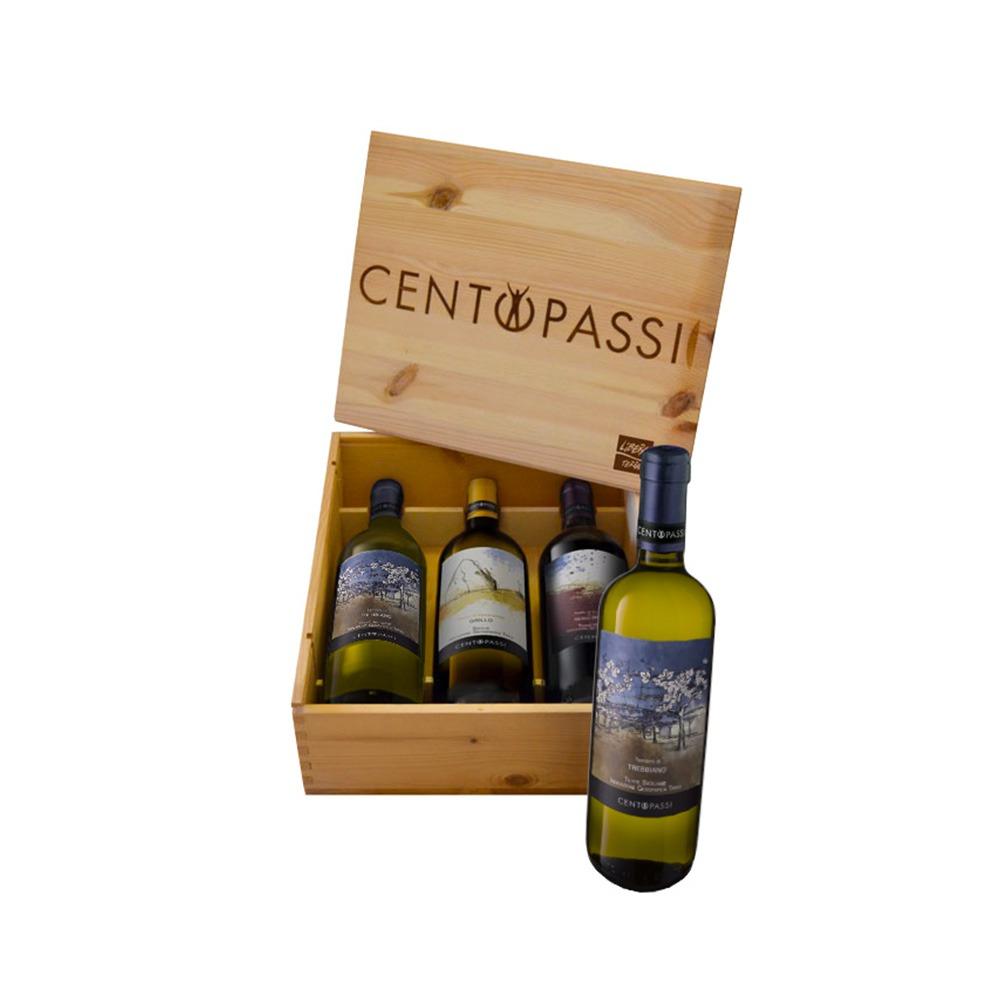 Cassetta di Vini Centopassi Luxury
