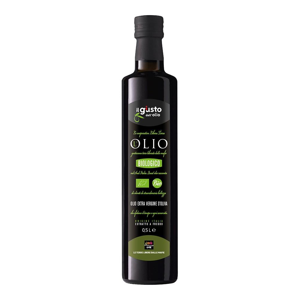 Olio Extra Vergine d'Oliva Biologico 50cl