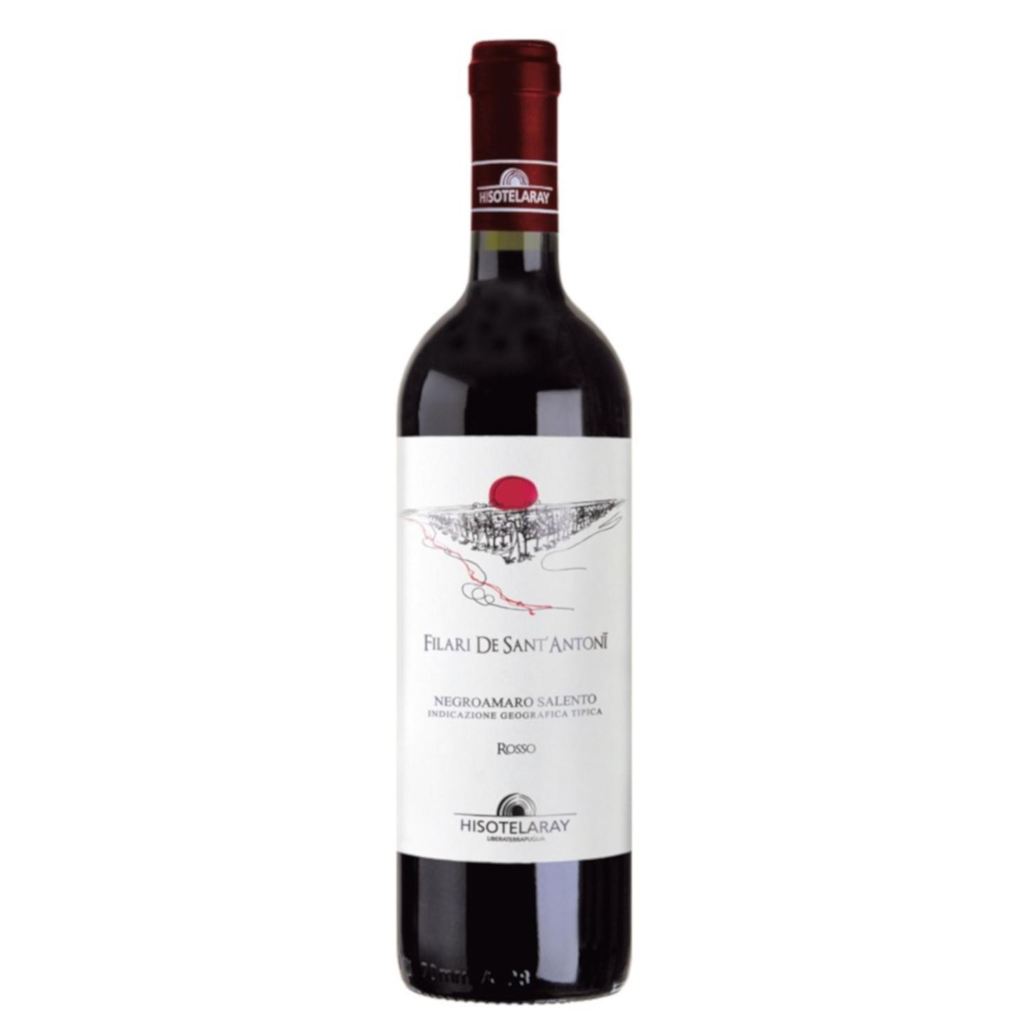 Negroamaro Rosso – Filari De Sant'Antonii – Salento IGT 2020 75cl
