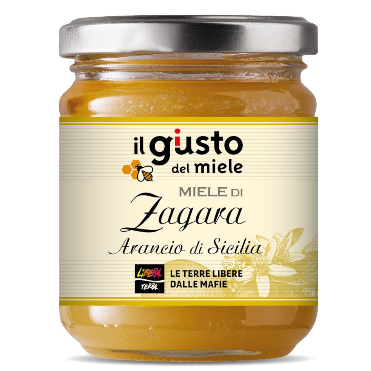 Miele di Zagara di Arancio di Sicilia 250g