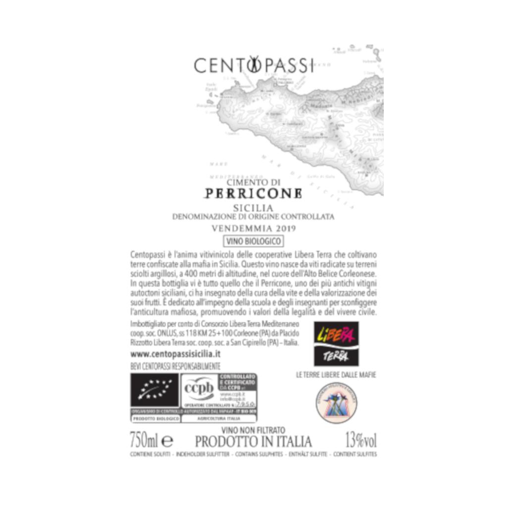 Perricone – Cimento di Perricone – DOC Sicilia 2019 75cl