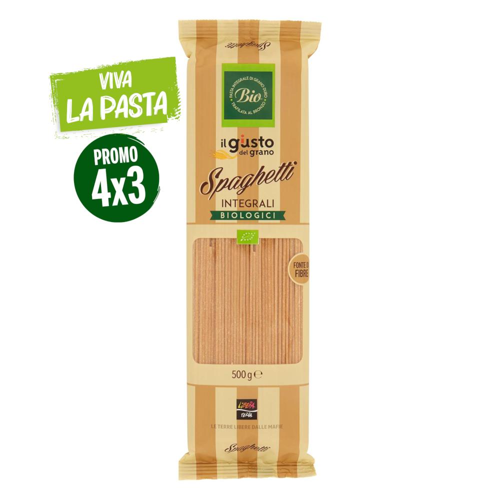 Spaghetti Integrali Biologici 500g
