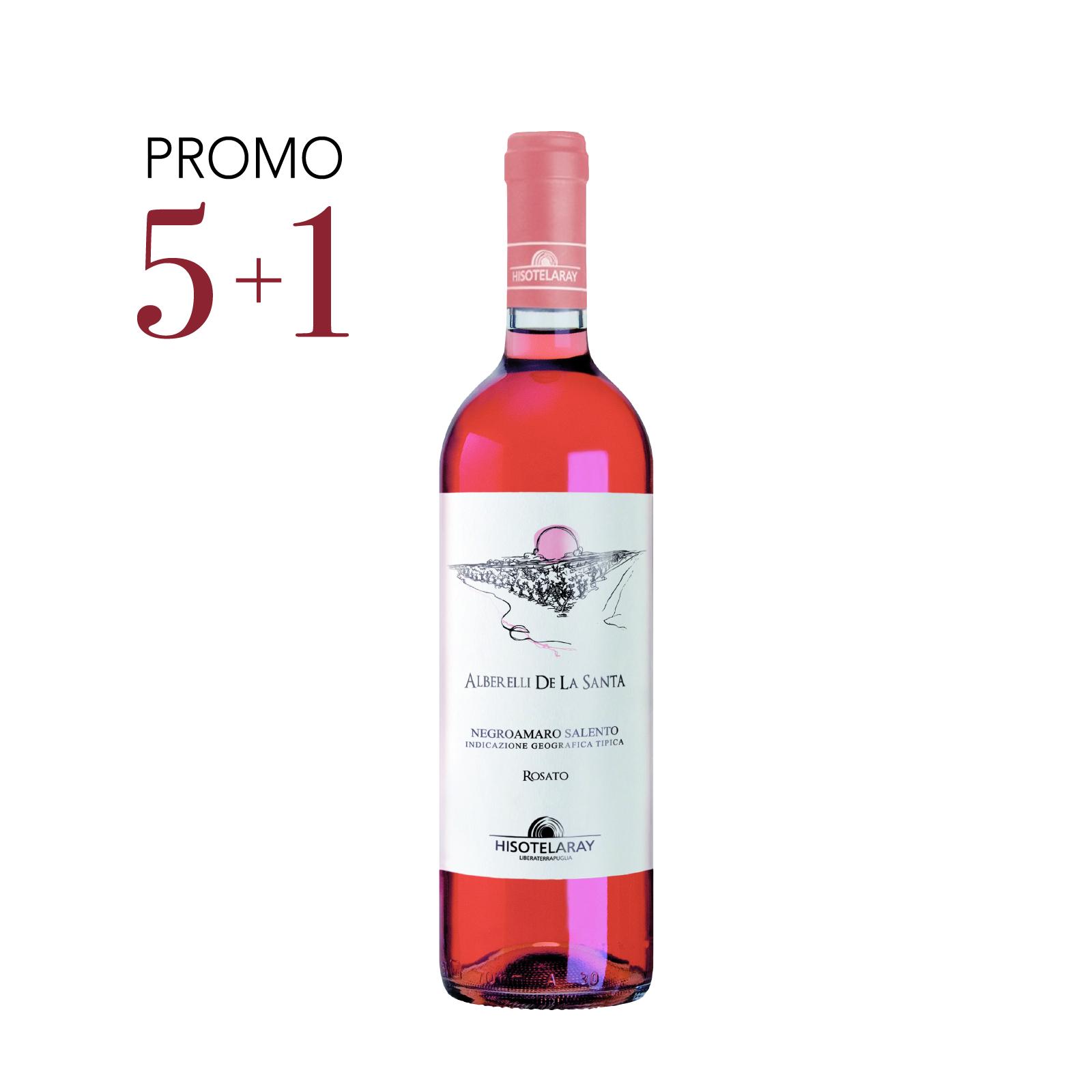 Negroamaro Rosato – Alberelli De La Santa – Salento IGT 2020 75cl