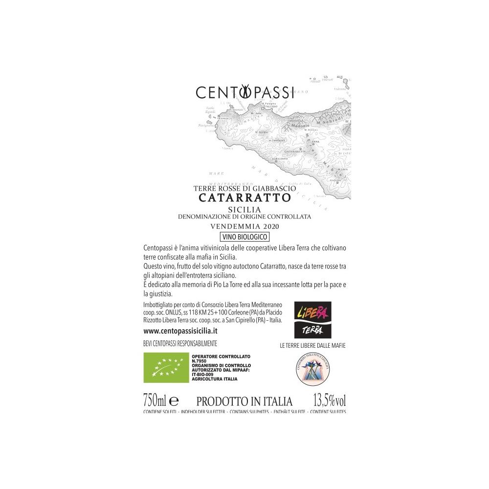 Catarratto – Terre Rosse Di Giabbascio – DOC Sicilia 2020 75cl